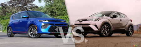 Comparison: 2019 Kia Soul vs 2019 Toyota C-HR