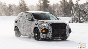 Mustang-Inspired Electric SUV: Ford Teases Spy Shots