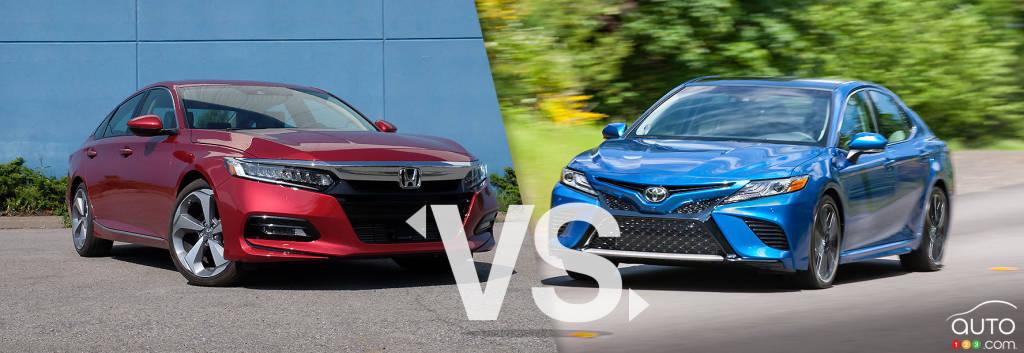 Comparison: 2019 Honda Accord vs 2019 Toyota Camry