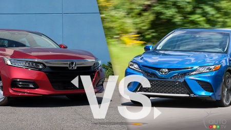 Comparison: 2019 Honda Accord vs 2019 Toyota Camry