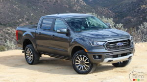 Ford Recalls 1,544 2019 Ranger Pickups in Canada