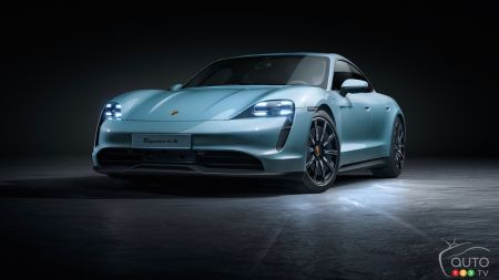 Porsche Launches a Base Version of its Taycan, the 4S