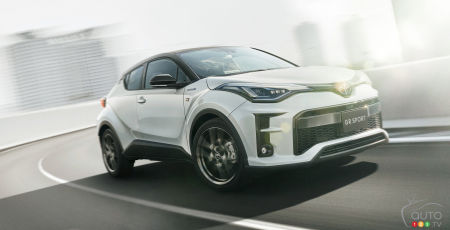 A GR Sport Version of the Toyota C-HR… But Only in Japan