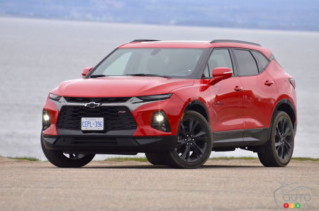 Production of the Chevrolet Blazer Temporarily Halted in Mexico