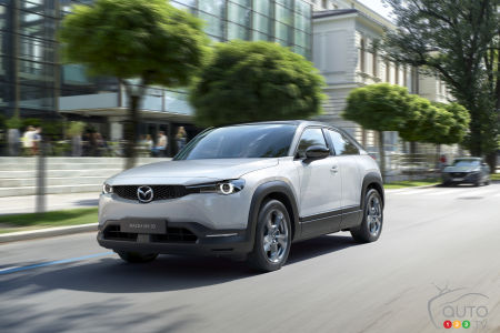 Tokyo 2019: Images of the 2020 Mazda MX-30 Electric Crossover