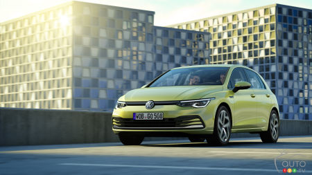 The New 8th-Generation 2020 Volkswagen Golf Debuts