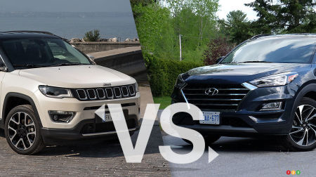 Comparison: 2019 Hyundai Tucson vs 2019 Jeep Compass