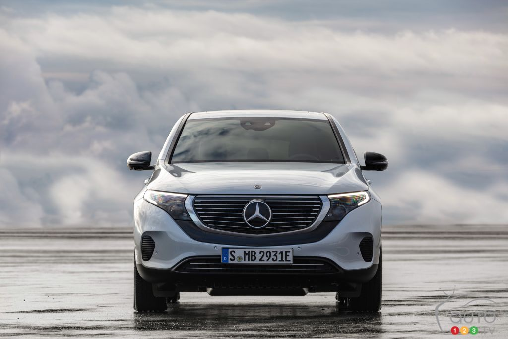 Having Just Launched it, Mercedes-Benz Recalls the New EQC