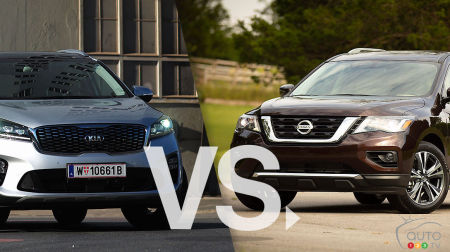 Comparison: 2019 Kia Sorento vs 2019 Nissan Pathfinder