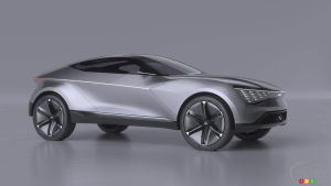 Kia Presents Futuron Electric Design Study at CIIE Show in Shanghai
