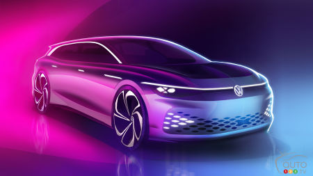 VW's ID. Space Vizzion Concept Will Debut in Los Angeles