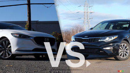 Comparaison : Kia Optima 2019 vs Mazda 6 2019