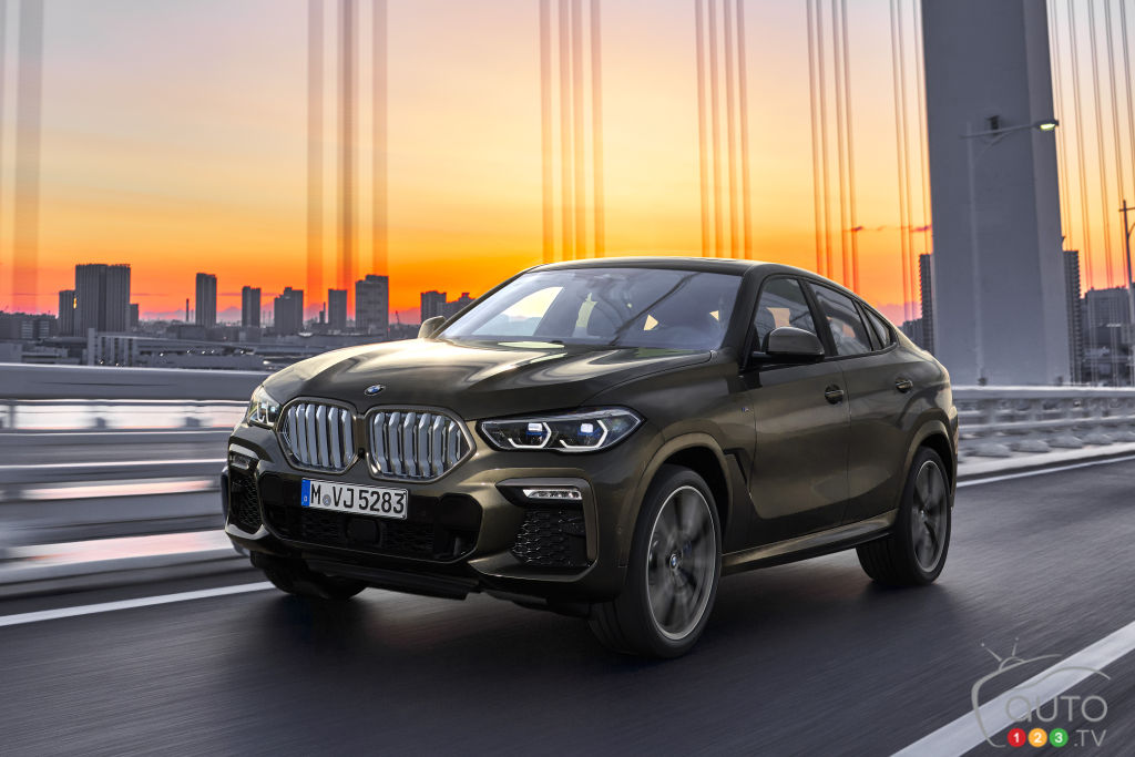 The 2020 BMW X6 Debuts: A Category Pioneer, Version 3.0