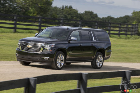 GM Wants Chevrolet Suburban to be Official Vehicle of Texas