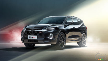Chevrolet Unveils a 7-seat Blazer … for the Chinese Market