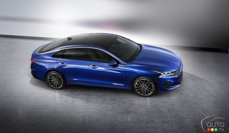 Third-generation 2021 Kia Optima Unveiled in South Korea