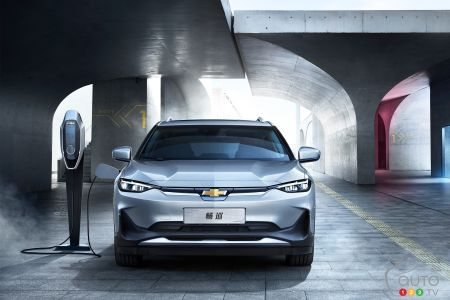 The Chevrolet Menlo EV Makes its Debut in China