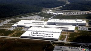 Volkswagen plant in Tennessee