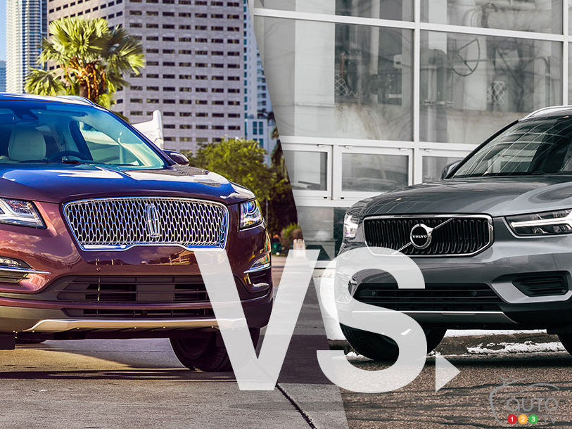 Lincoln MKC 2019 vs Volvo XC40 2019