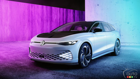 Los Angeles 2019 : Volkswagen dévoile son ID. Space Vizzion Concept