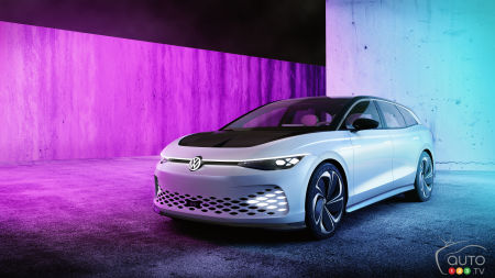 Los Angeles 2019: Volkswagen Rolls Out ID. Space Vizzion Concept