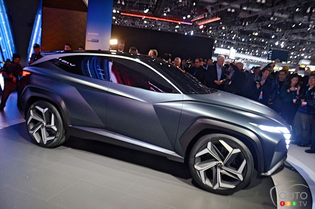 Los Angeles 2019: Hyundai Presents the Vision T, previewing the future look of its SUVs
