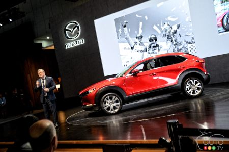 Los Angeles 2019: The 2020 Mazda CX-30, the hot new rookie on the squad