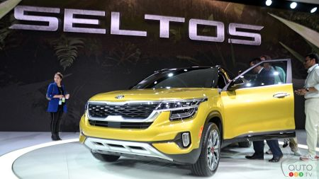 Los Angeles 2019: Kia Presents 2021 Seltos SUV