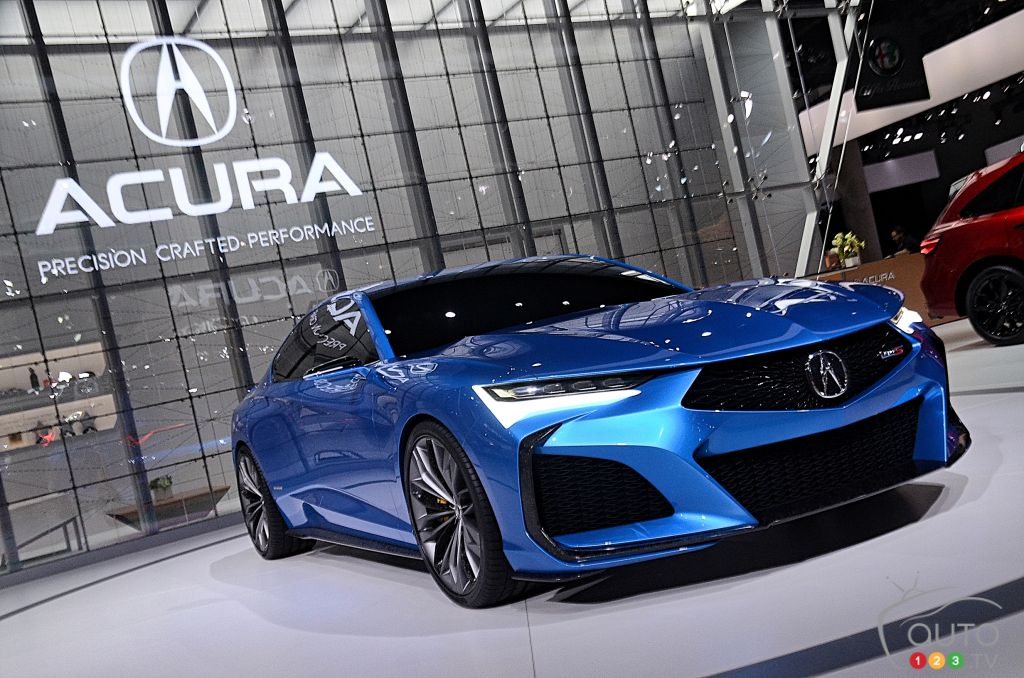 Los Angeles 2019: Acura Type S Concept Previews Brand's Future Designs
