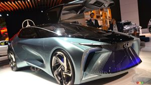 Los Angeles 2019: The Lexus LF-30 Concept, or Gazing Into the Distant Future