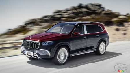 Mercedes dévoile le Mercedes-Maybach GLS 600 4Matic