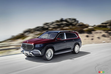 Mercedes Introduces the 2021 Mercedes-Maybach GLS 600 4Matic