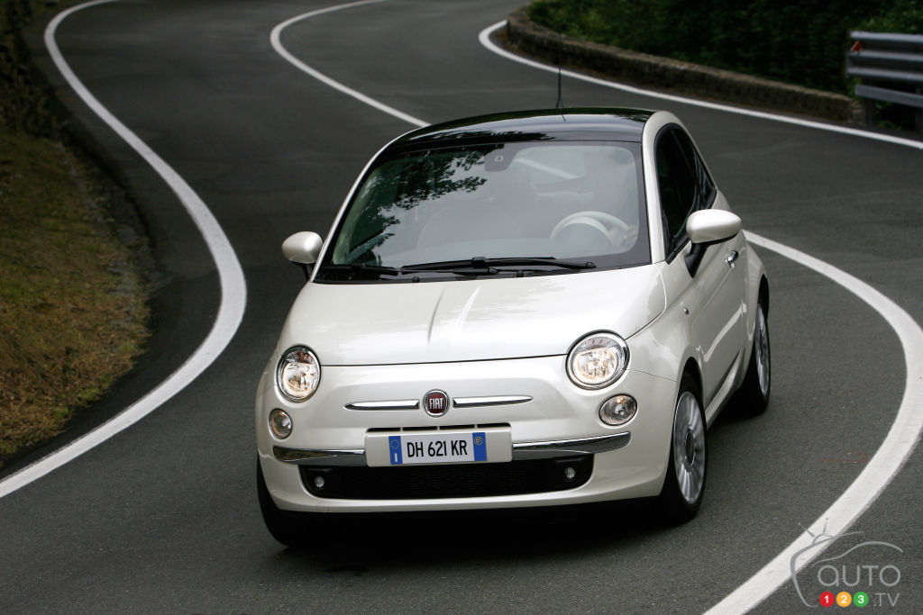 FCA to Recall 10,627 Fiat 500 Cars in Canada