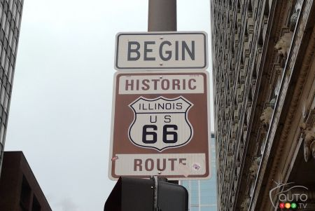 Route 66 with Nissan, Day One: From Chicago to Cuba… Missouri