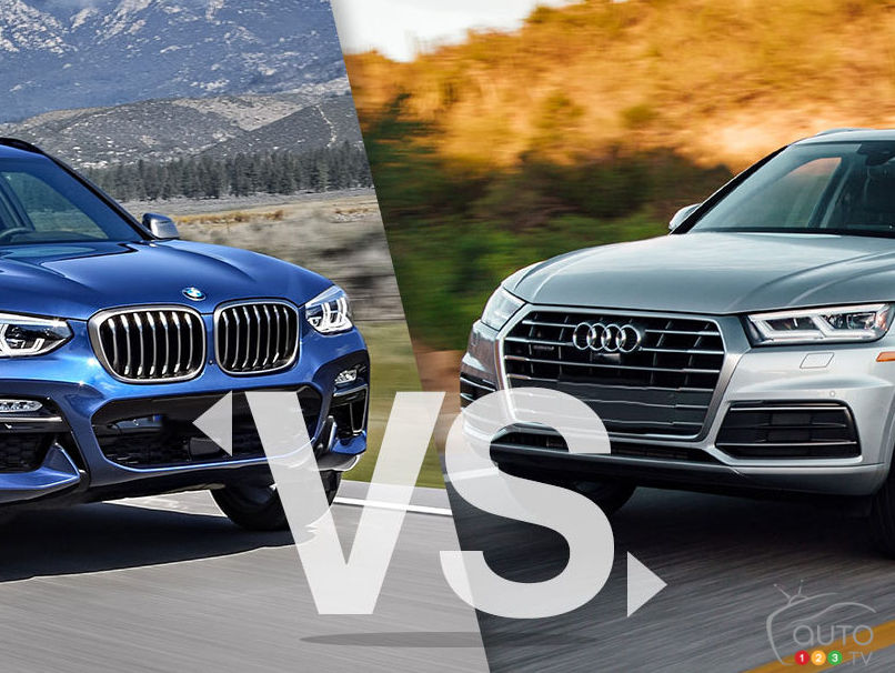 BMW X 3 2019 and  Audi Q5 2015