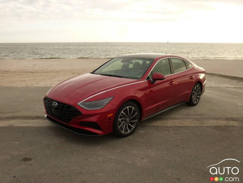 2020 Hyundai Sonata First Drive Car Reviews Auto123