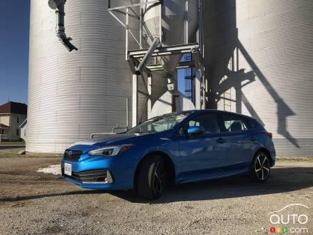 2020 subaru impreza first drive car reviews auto123 2020 subaru impreza first drive car