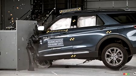 2020 Ford Explorer Flubs Crash Test, Misses Out on Top Safety Pick