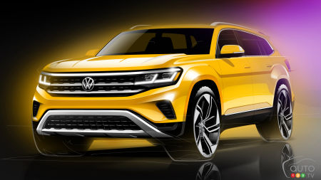 Volkswagen Shows Refreshed 2021 Atlas SUV