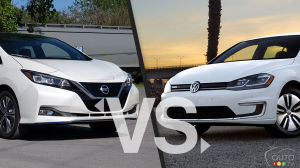 Comparison: 2019 Nissan LEAF vs 2019 Volkswagen e-Golf