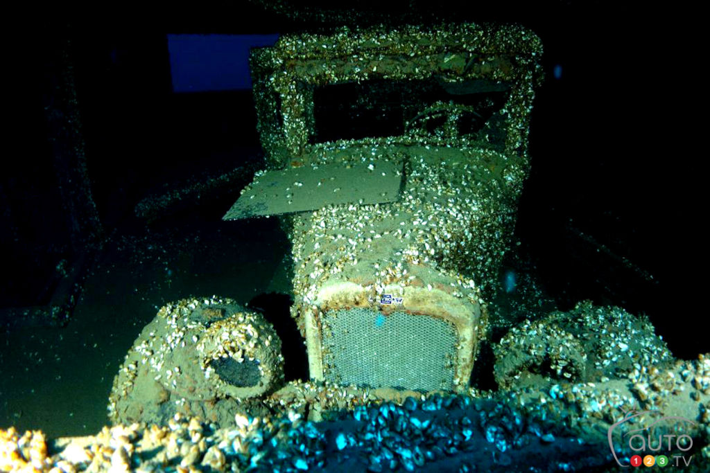1927 Chevrolet Found in Shipwreck at Bottom of Lake Huron
