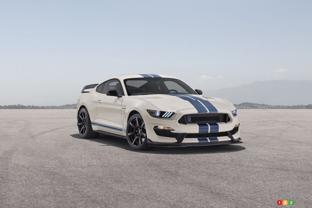 2020 Mustang Shelby GT350, GT350R get Heritage Edition