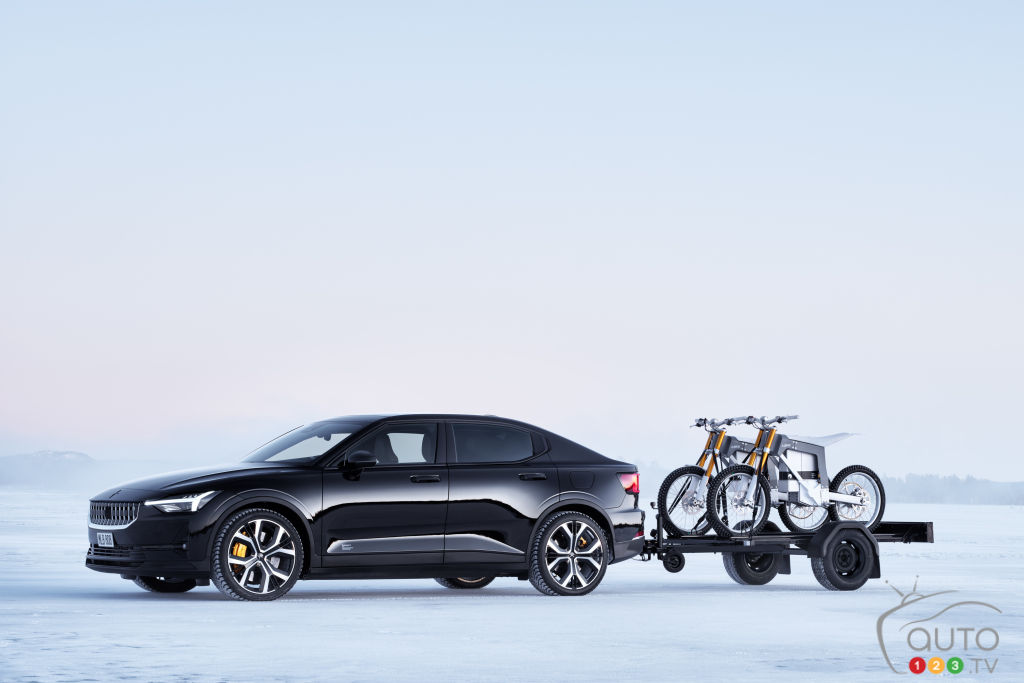 A Towing Capacity of 3,307 lb For the Polestar 2