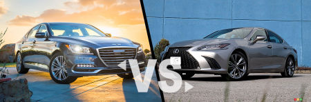 Comparison: 2019 Genesis G80 vs 2019 Lexus ES