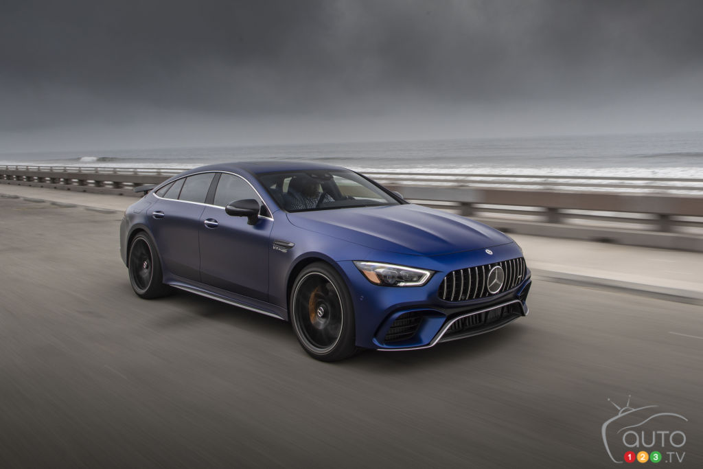 An Electric Mercedes-AMG GT Coming in 2020?
