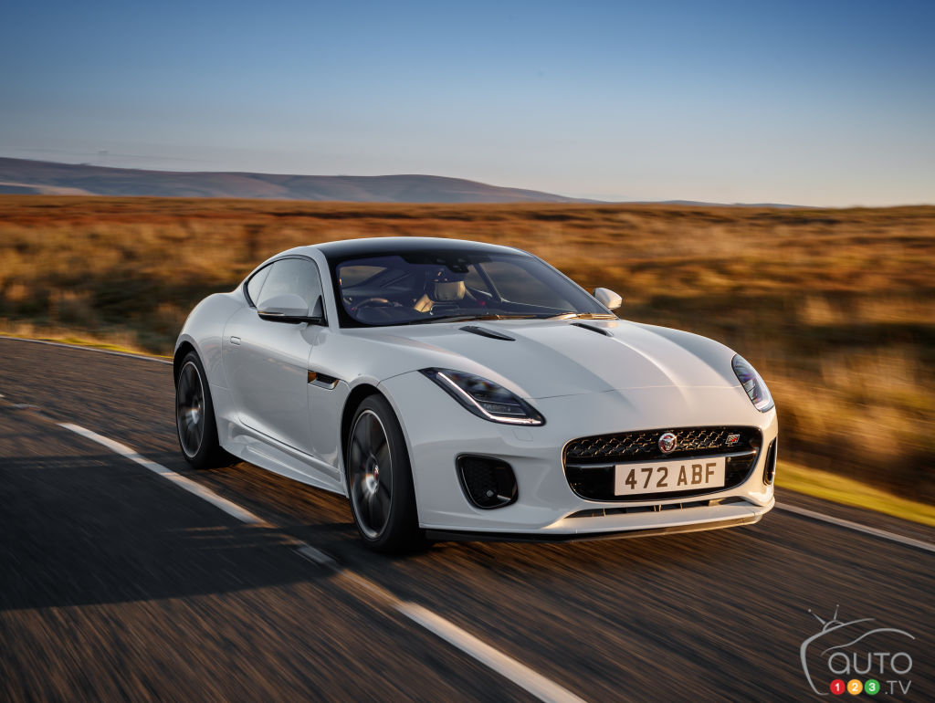 Jaguar F-Type Checkered Flag Limited Edition 2020