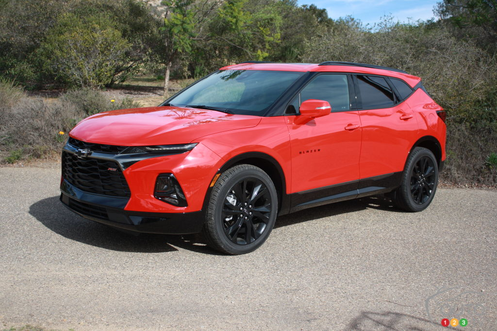 2019 Chevrolet Blazer First Drive Review | Car Reviews ...