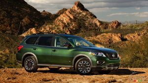 Nissan Pathfinder Gets Rock Creek Special Edition for 2019