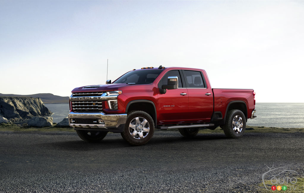 2020 Chevrolet Silverado HD gets its turn to shine | Car ...