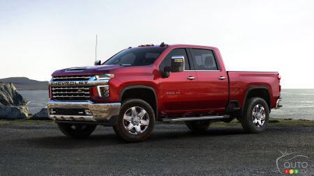 Chicago 2019 : Au tour de la version HD du Chevrolet Silverado de se dévoiler